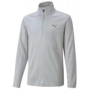 Puma Boys 1/4 Zip Junior Golf Pullover