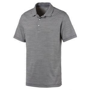Puma CLOUDSPUN Caddie Stripe Golf Polo Shirt