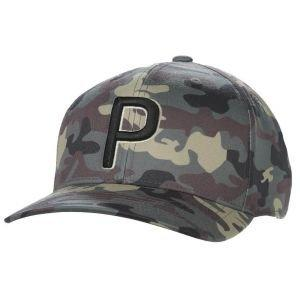 Puma Camo Pattern Snapback Golf Hat