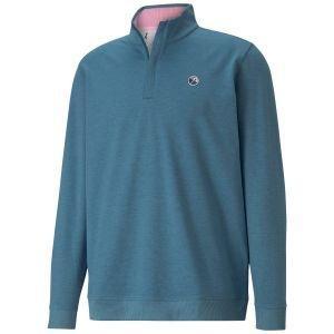 Puma AP CLOUDSPUN Clubhouse 1/4 Zip Golf Pullover Arnold Palmer Collection