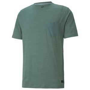 PUMA EGW CLOPUDSPUN Pushcart Pocket Golf T-Shirt