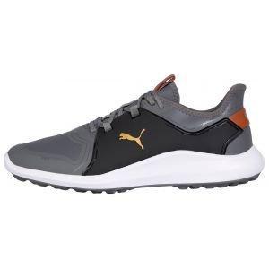 Puma IGNITE Fasten8 Pro Golf Shoes Quiet Shade/Gold/Puma Black