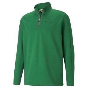Puma First Mile Flash 1/4 Zip Golf Pullover