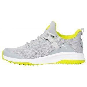 PUMA Fusion Evo Golf Shoes High Rise/Limepunch