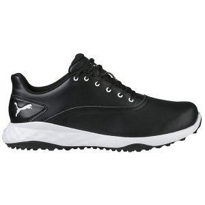 Puma Grip Fusion Golf Shoes Black/White - ON SALE