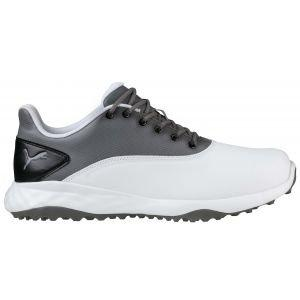 Puma Grip Fusion Golf Shoes White/Quiet Shade - ON SALE