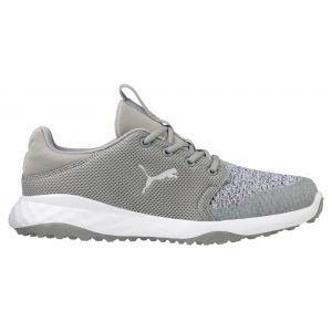 PUMA Grip Fusion Sport Spikeless Golf Shoes Limestone/Gray Violet
