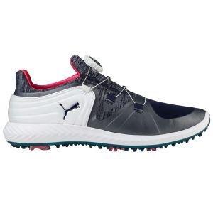 Puma Womens Ignite Blaze Sport Disc Golf Shoes Peacoat/White