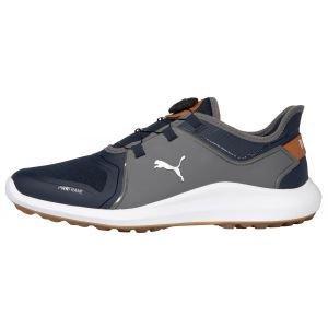 Puma IGNITE Fasten8 DISC Golf Shoes Navy Blazer/Puma Silver/Quiet Shade
