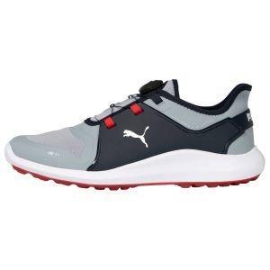 Puma IGNITE Fasten8 DISC Golf Shoes Quarry/Puma Silver/Navy Blazer