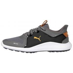 Puma IGNITE Fasten8 Golf Shoes Quiet Shade/Gold/Puma Black