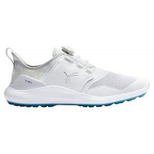Puma Ignite NXT Disc Golf Shoes White/Silver/High Rise