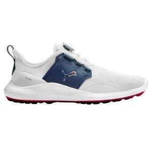 Puma Ignite NXT Disc Golf Shoes White/Silver/Peacoat