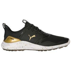 Puma Ignite NXT Lace Presidents Cup Golf Shoes - Black/Gold