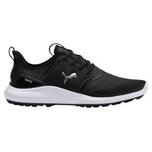 Puma Ignite NXT Pro Golf Shoes Black/Silver/White