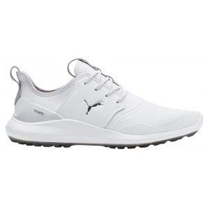 Puma Ignite NXT Pro Golf Shoes 2019 White/Silver/Gray Violet