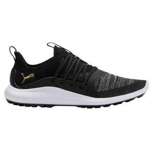 Puma Ignite NXT Solelace Golf Shoes Black/Team Gold