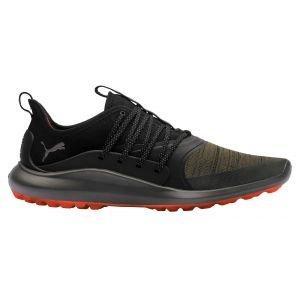 Puma Ignite NXT Solelace Golf Shoes Burnt Olive/Aged Silver/Black