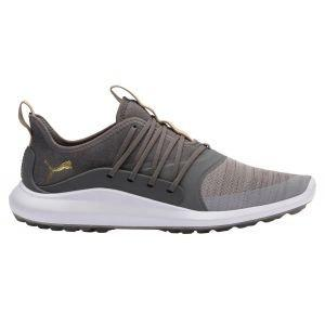Puma Ignite NXT Solelace Golf Shoes Gray Violet/Team Gold/Quiet Shade