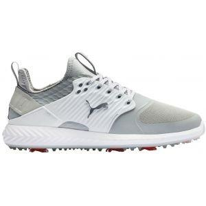 Puma Ignite PwrAdapt Caged Golf Shoes Gray Violet/Silver/White 2020