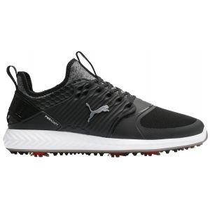 Puma Ignite PwrAdapt Caged Golf Shoes Black/Silver/Black 2020