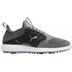 Puma Ignite PwrAdapt Caged Golf Shoes Quiet Shade/Black/Silver 2020