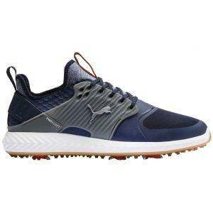 Puma Ignite PwrAdapt Caged Golf Shoes Peacoat/Silver/Quiet Shade 2020