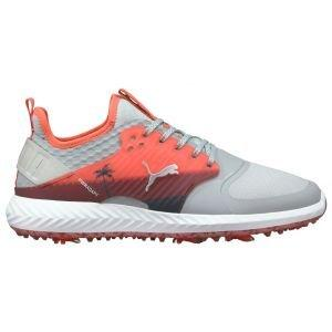 PUMA IGNITE PWRADAPT Caged Palms Golf Shoes High Rise/Georgia Peach/Zinfan