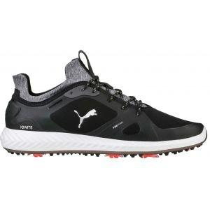 Puma Ignite PWRAdapt Golf Shoes Black/White - ON SALE