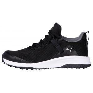 PUMA Junior Grip Fusion Evo Golf Shoes Puma Black/Puma Black