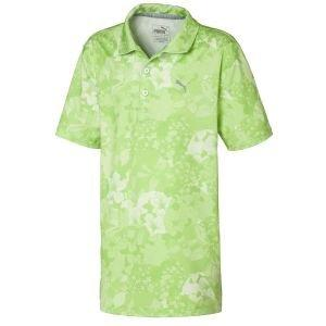 Puma Junior Boys Tournament Golf Polo Shirt