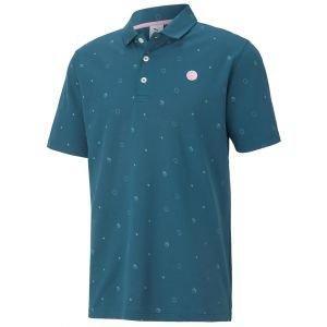 Puma Arnold Palmer Collection Legacy Print Golf Polo Shirt