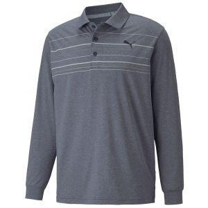 PUMA MATTR Long Sleeve Golf Polo
