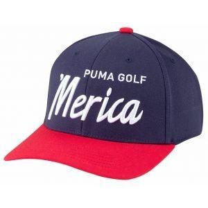 Puma 'Merica Script Snapback Golf Hat