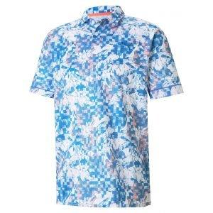 Puma Tech Pique Botanical Golf Polo