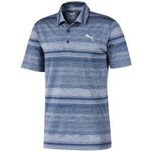 Puma Variegated Stripe Golf Polo