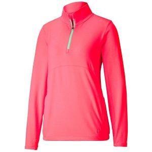 Puma Ladies CLOUDSPUN 1/4 Zip Golf Pullover