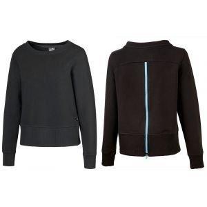 Puma Womens Crewneck Zip Fleece Golf Sweater - ON SALE
