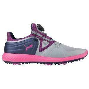 Puma Womens Ignite Blaze DISC Golf Shoes Quarry/Pink