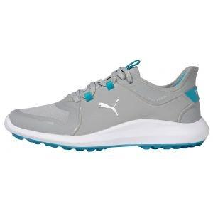 Puma Womens IGNITE Fasten8 Golf Shoes High Rise/Puma Silver/Scuba Blue