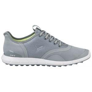Puma Womens Ignite Statement Low Golf Shoes Quarry/White - ON SALE