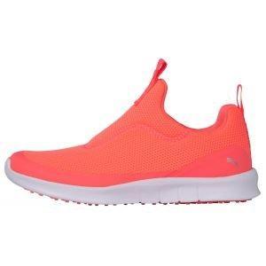 PUMA Womens Laguna Fusion Slip On Golf Shoes Ignite Pink/PUMA Silver