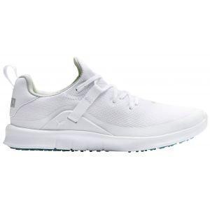 Puma Womens Laguna Fusion Sport Golf Shoes - White/White