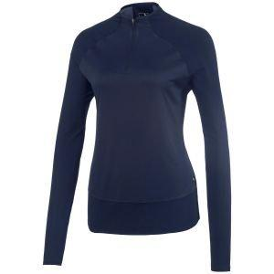 Puma Womens Mesh 1/4 Zip Golf Pullover