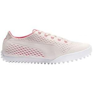Puma Womens Monolite Cat EM Golf Shoes Rosewater/Rapture Rose 2020