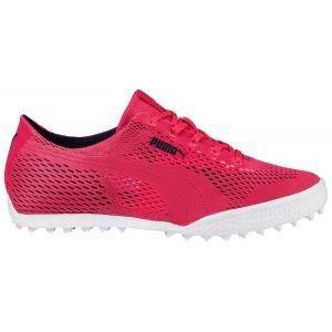 Puma Womens Monolite Cat Woven Golf Shoes Paradise Pink
