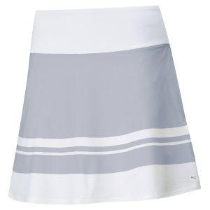 Puma Women's PWRSHAPE Stripe Golf Skirt