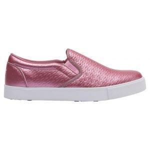 Puma Womens Tustin Slip-On Golf Shoes Metallic/White