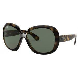 Ray-Ban Women's Jackie Ohh II Tortoise Sunglasses - Green Classic Lens