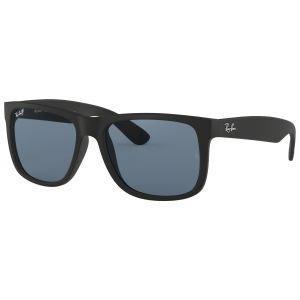 Ray-Ban Justin Classic Black Sunglasses - Polarized Blue Classic Lens